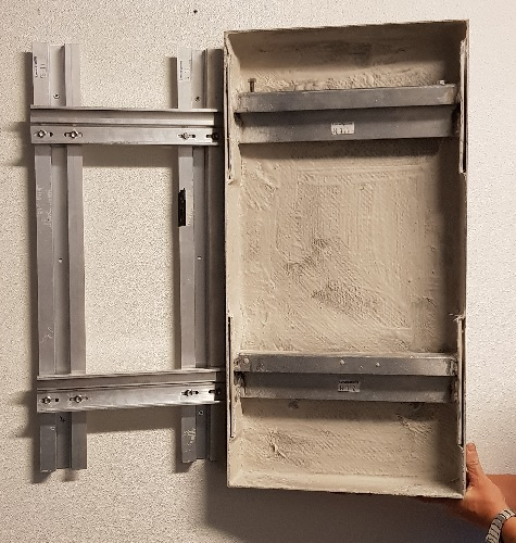 reinforcement construction inside a A1 panel